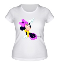 Женская футболка Минни Маус мечтает