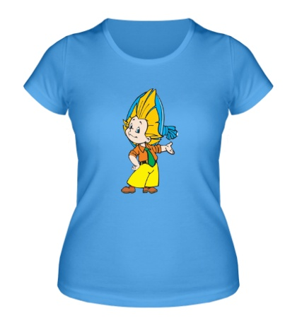Женская футболка Незнайка