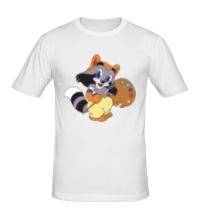 Мужская футболка Крошка Енот