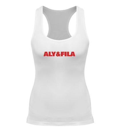 Женская борцовка Aly & fila