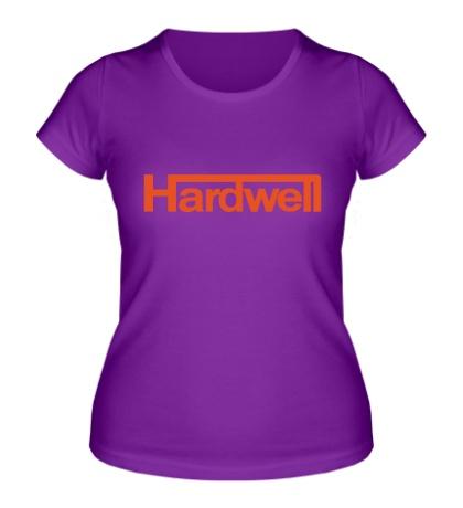 Женская футболка Hardwell