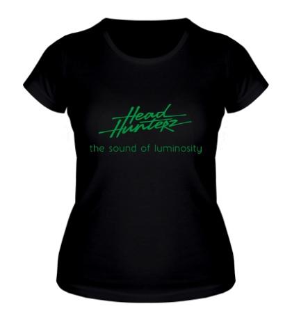 Женская футболка Headhunterz: the luminosity