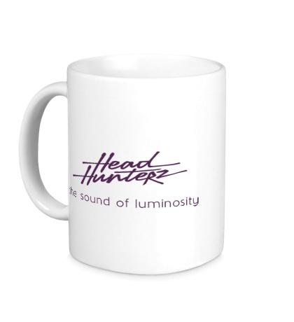 Керамическая кружка Headhunterz: the luminosity