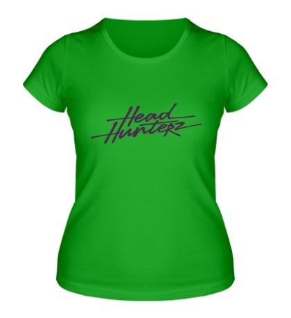 Женская футболка «Headhunterz»