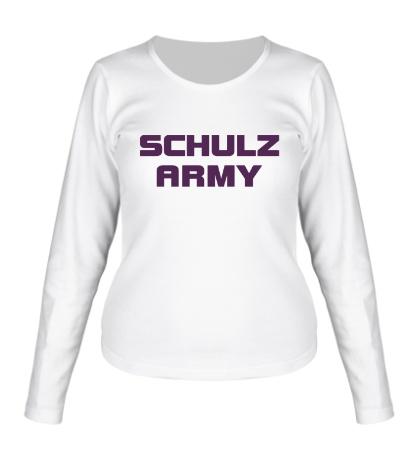 Женский лонгслив Schulz army