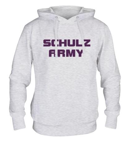 Толстовка с капюшоном Schulz army