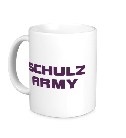 Керамическая кружка Schulz army