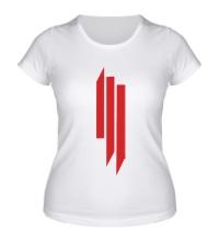 Женская футболка Skrillex Lines