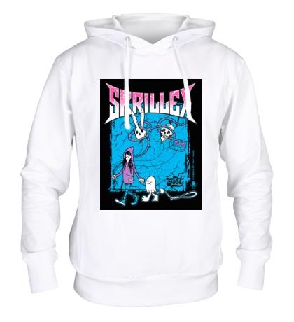Толстовка с капюшоном Skrillex ghosts