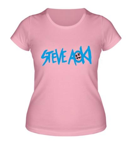 Женская футболка Steve Aoki
