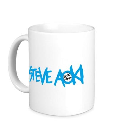 Керамическая кружка Steve Aoki