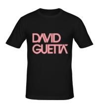 Мужская футболка David guetta