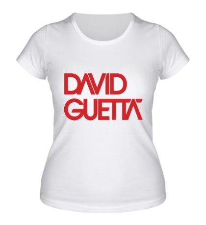 Женская футболка David guetta