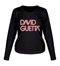 Женский лонгслив David guetta