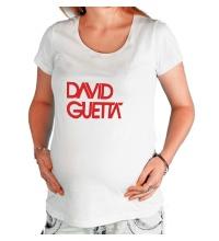 Футболка для беременной David guetta