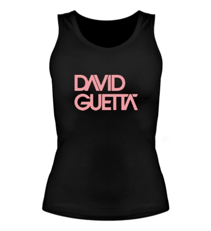Женская майка David guetta