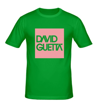 Мужская футболка David Guetta Square