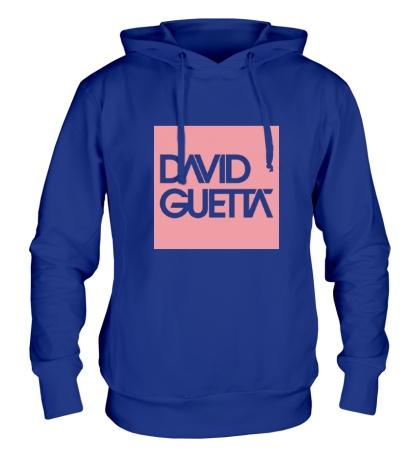 Толстовка с капюшоном David Guetta Square