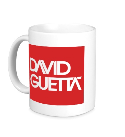 Керамическая кружка David Guetta Square