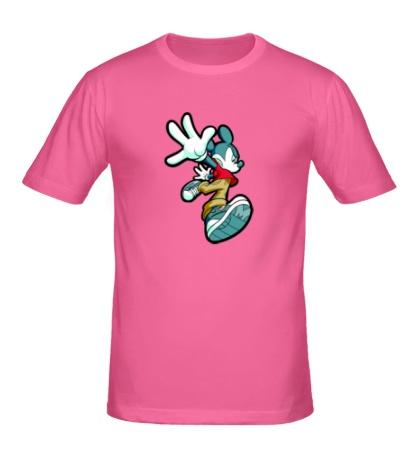 Мужская футболка Злой Микки Маус