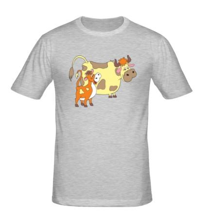 Мужская футболка Каникулы в Простоквашино