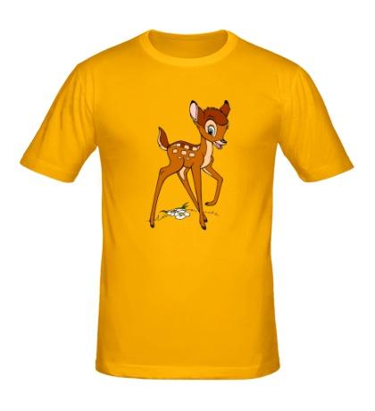 Мужская футболка Оленёнок
