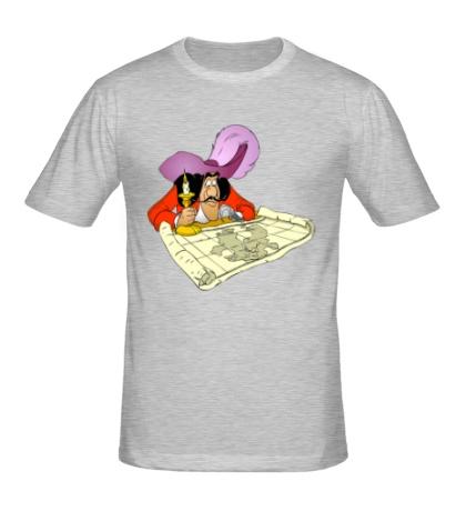 Мужская футболка Капитан Крюк