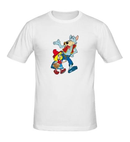 Мужская футболка Красная шапочка