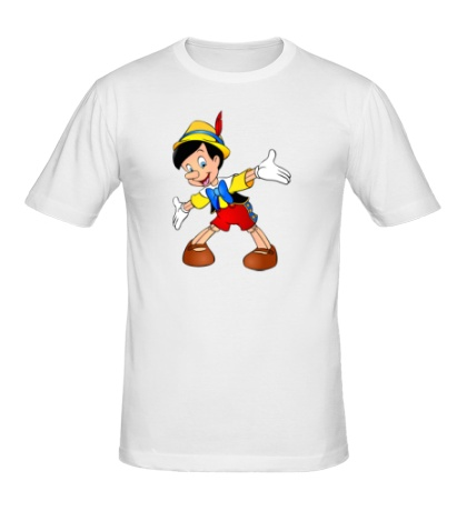 Мужская футболка Пиноккио