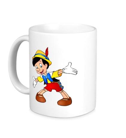 Керамическая кружка Пиноккио