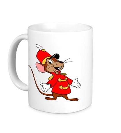 Керамическая кружка Мышь-швейцар