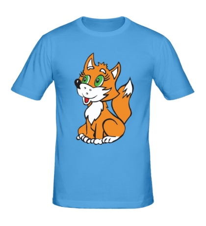 Мужская футболка Лисёнок