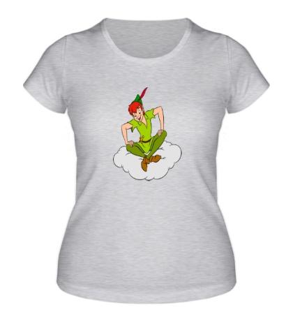Женская футболка Питер Пэн