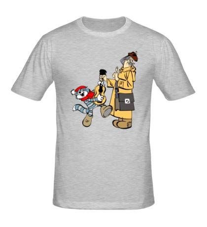 Мужская футболка Простоквашино