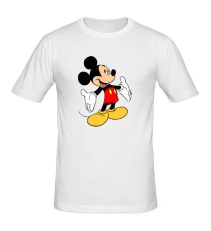 Мужская футболка Задорный Микки Маус