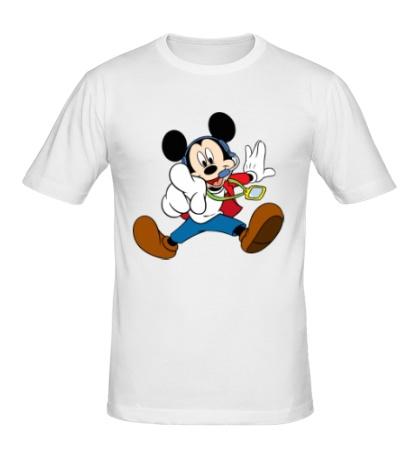 Мужская футболка Микки Маус судья