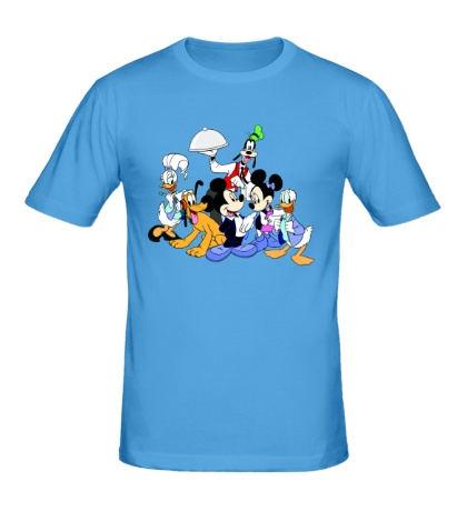 Мужская футболка Семья Микки