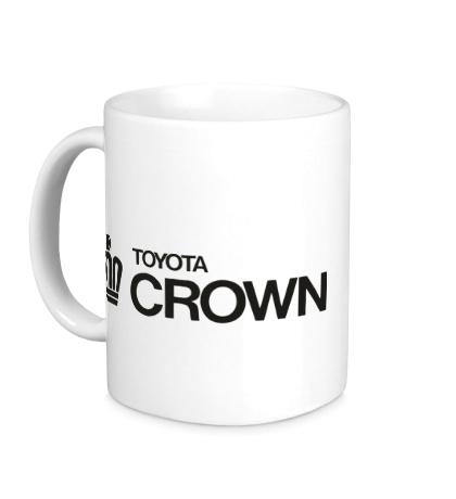 Керамическая кружка Toyota crown big logo