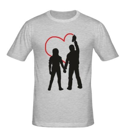 Мужская футболка Любовь вандалов