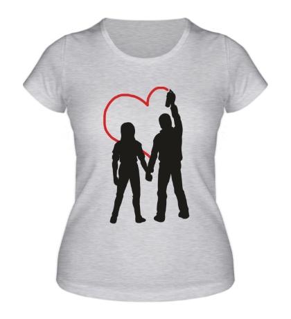 Женская футболка Любовь вандалов