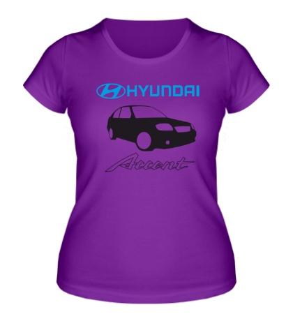 Женская футболка Hyundai Accent