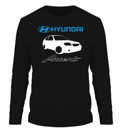Мужской лонгслив Hyundai Accent