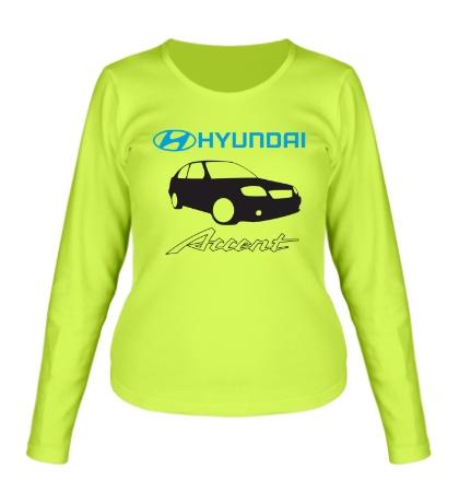 Женский лонгслив Hyundai Accent