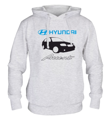 Толстовка с капюшоном Hyundai Accent