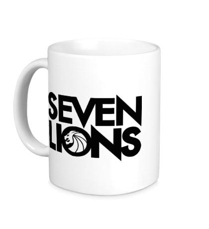 Керамическая кружка Seven Lions