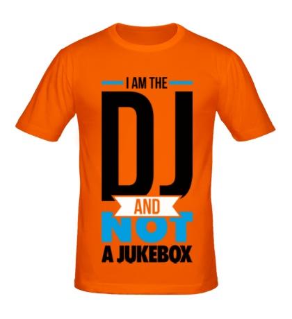 Мужская футболка I am the DJ