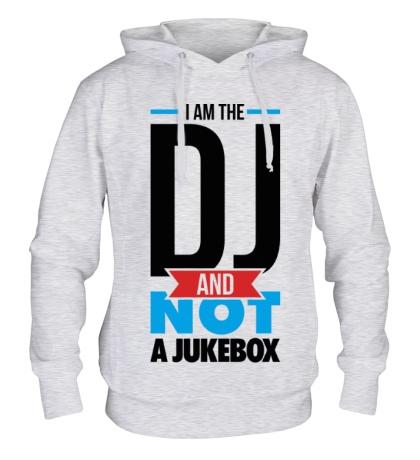 Толстовка с капюшоном I am the DJ