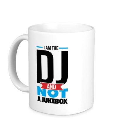 Керамическая кружка I am the DJ