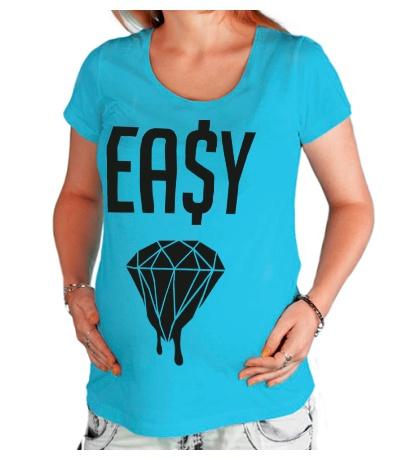 Футболка для беременной Easy Diamond