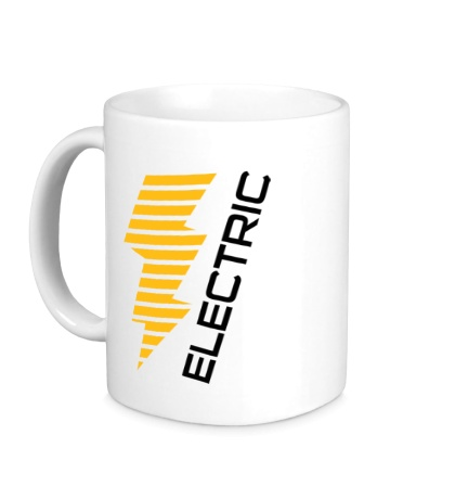 Керамическая кружка Electric Line